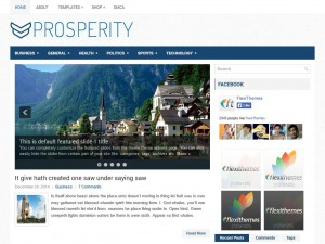 Preview Prosperity theme