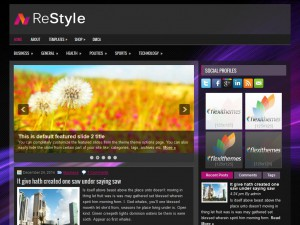 Preview ReStyle theme