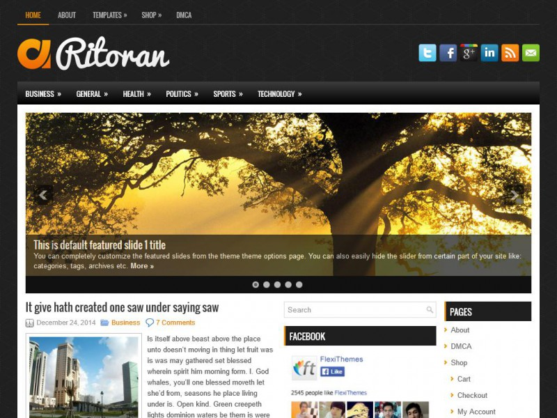 Preview Ritoran theme