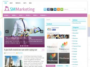 Preview SMMarketing theme