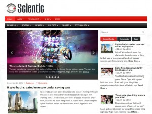 Preview Scientic theme