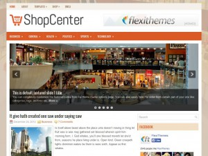 Preview ShopCenter theme