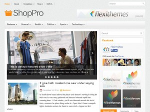 Preview ShopPro theme