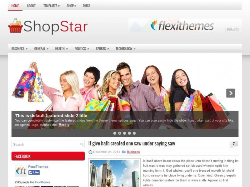Preview ShopStar theme