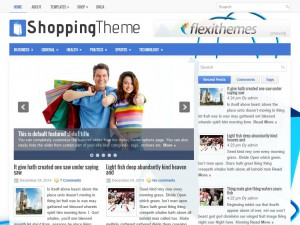 Preview ShoppingTheme theme