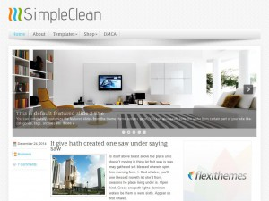 Preview SimpleClean theme