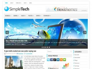 Preview SimpleTech theme