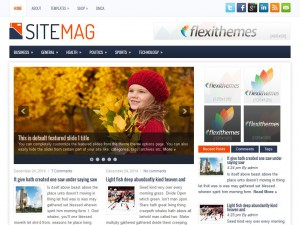 Preview SiteMag theme