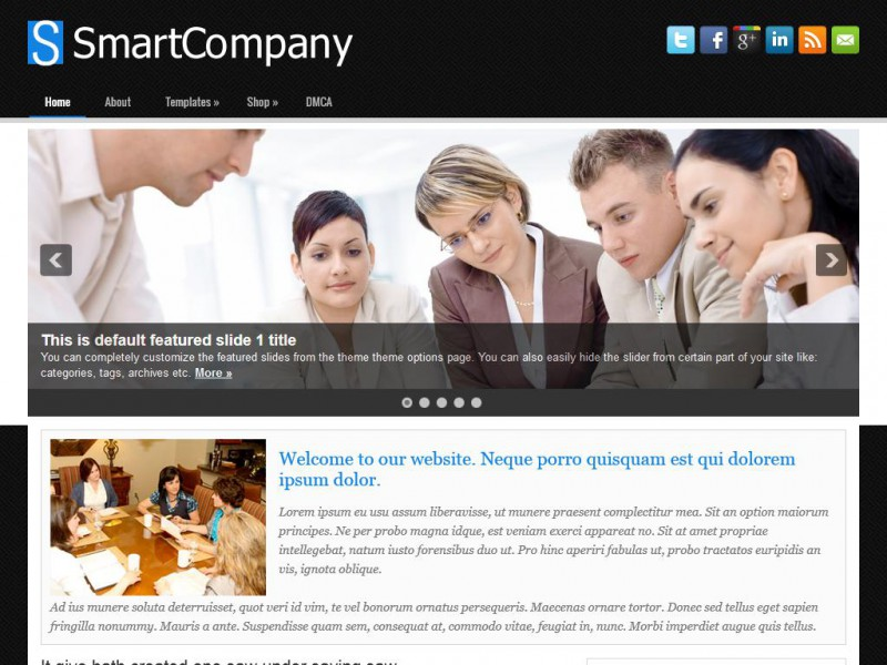 Preview SmartCompany theme