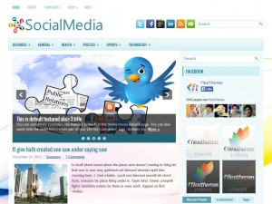 Preview SocialMedia theme