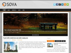 Preview Sova theme