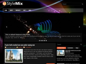 Preview StyleMix theme