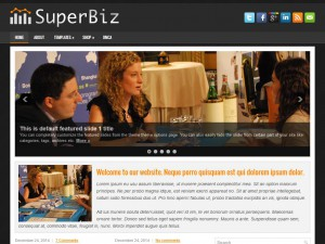 Preview SuperBiz theme