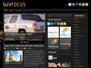 Preview SuvFocus theme