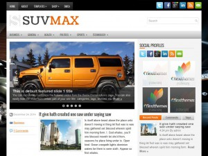 Preview SuvMax theme