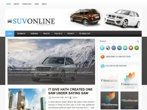 Preview SuvOnline theme