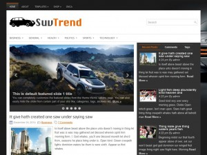 Preview SuvTrend theme