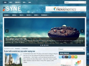 Preview Syne theme
