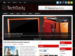 Preview TechDaily theme