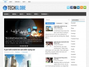Preview TechGlobe theme