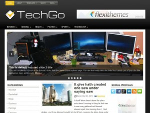 Preview TechGo theme