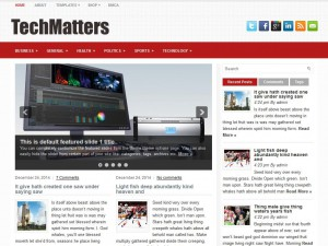 Preview TechMatters theme