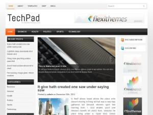 Preview TechPad theme