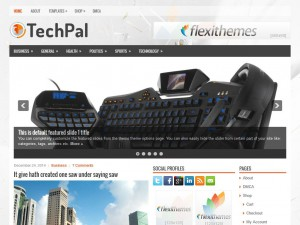 Preview TechPal theme