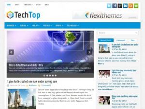 Preview TechTop theme