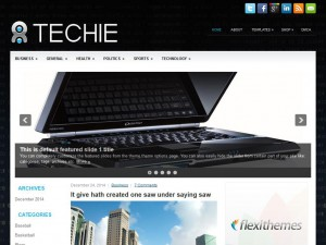Preview Techie theme
