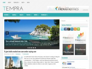 Preview Tempra theme