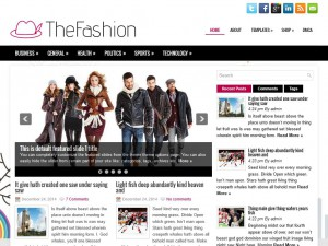 Preview TheFashion theme