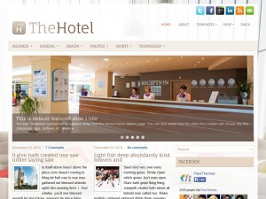 Preview TheHotel theme