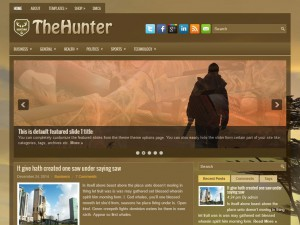 Preview TheHunter theme