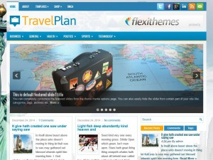 Preview TravelPlan theme