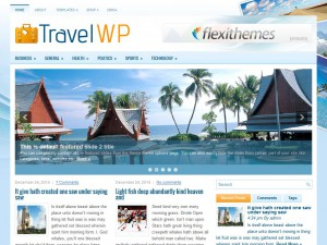 Preview TravelWP theme