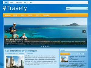 Preview Travely theme