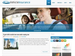 Preview VehicleInsurance theme