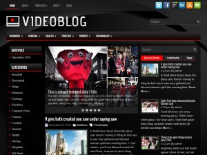 Preview VideoBlog theme