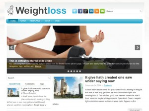 Preview WeightLoss theme