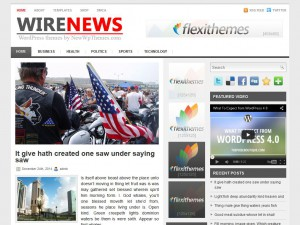 Preview WireNews theme