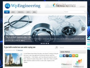 Preview WpEngineering theme
