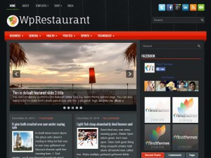 Preview WpRestaurant theme