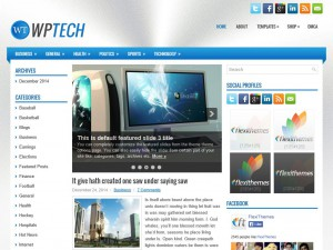 Preview WpTech theme