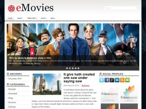 Preview eMovies theme