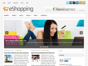 Preview eShopping theme