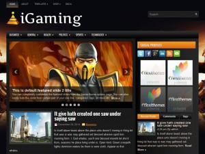 Preview iGaming theme