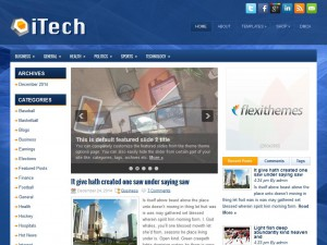 Preview iTech theme