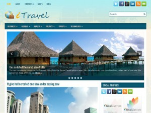 Preview iTravel theme
