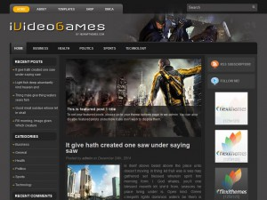Preview iVideoGames theme